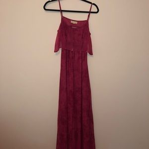 Pink Maxi dress from UrbanOutfitters